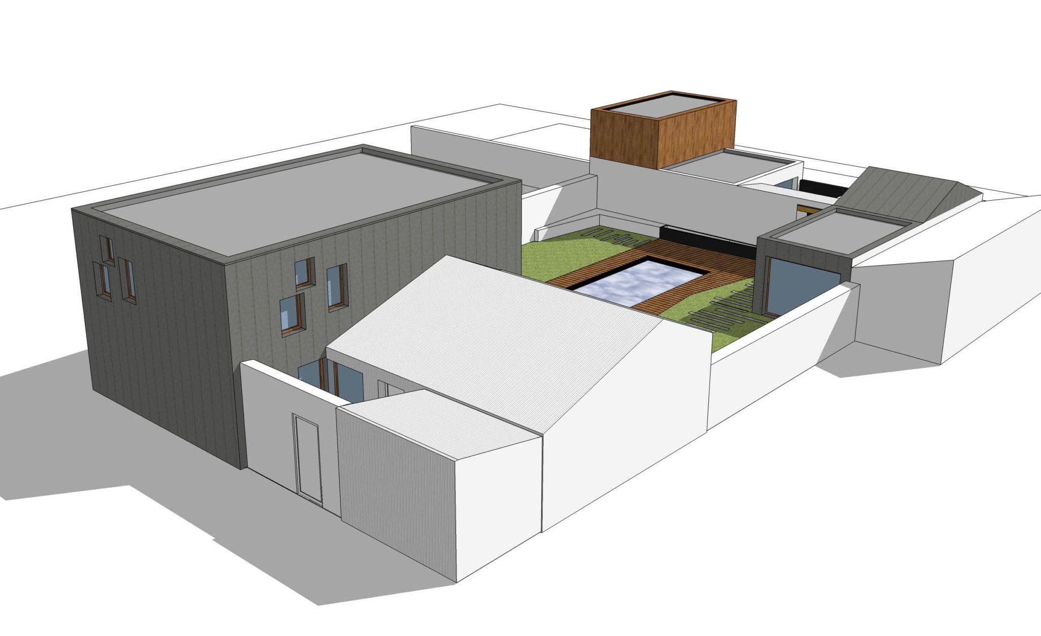 maison la rochelle 17 agence lionel coutier architecte la rochelle. Black Bedroom Furniture Sets. Home Design Ideas