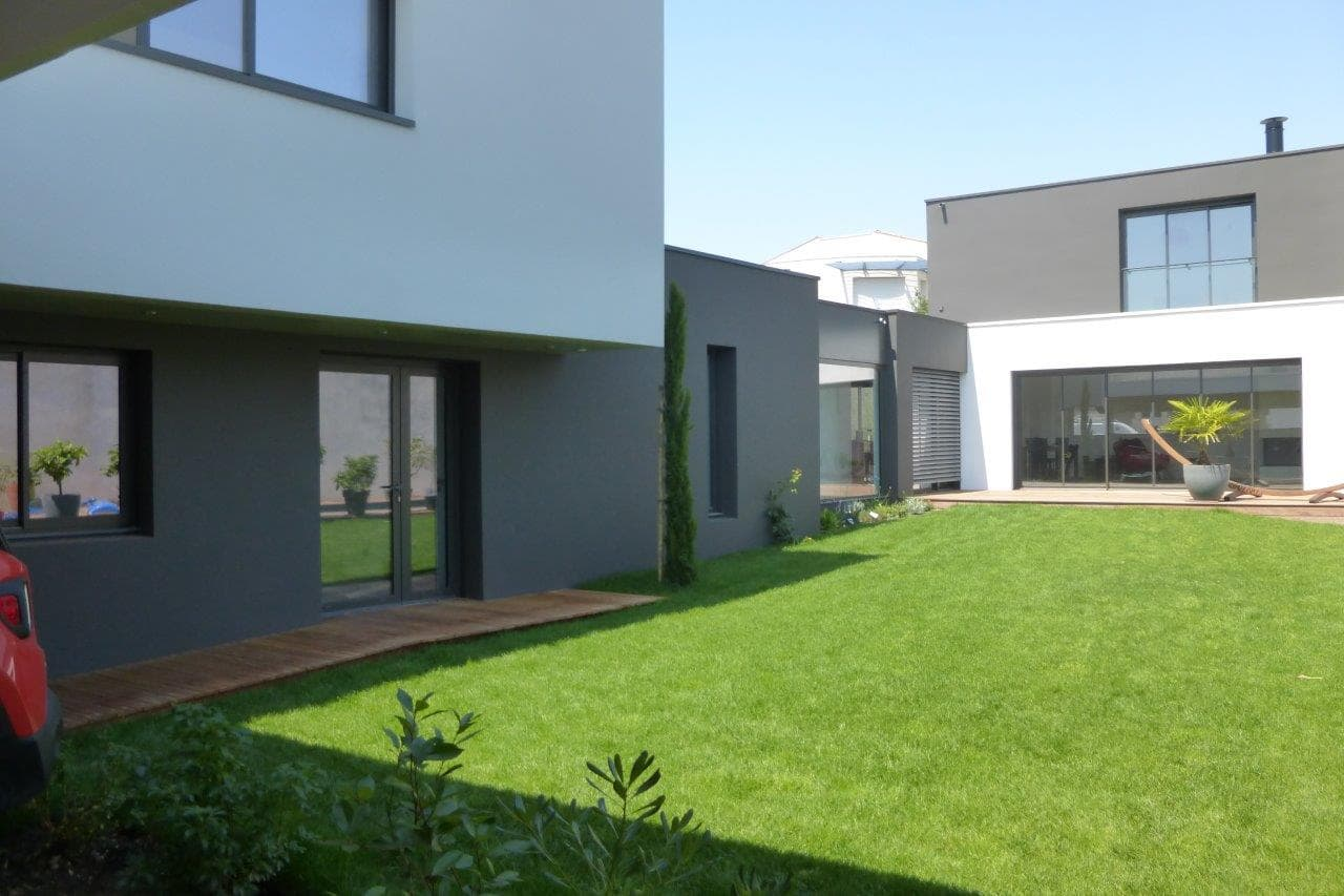 maison la rochelle 14 agence lionel coutier architecte. Black Bedroom Furniture Sets. Home Design Ideas