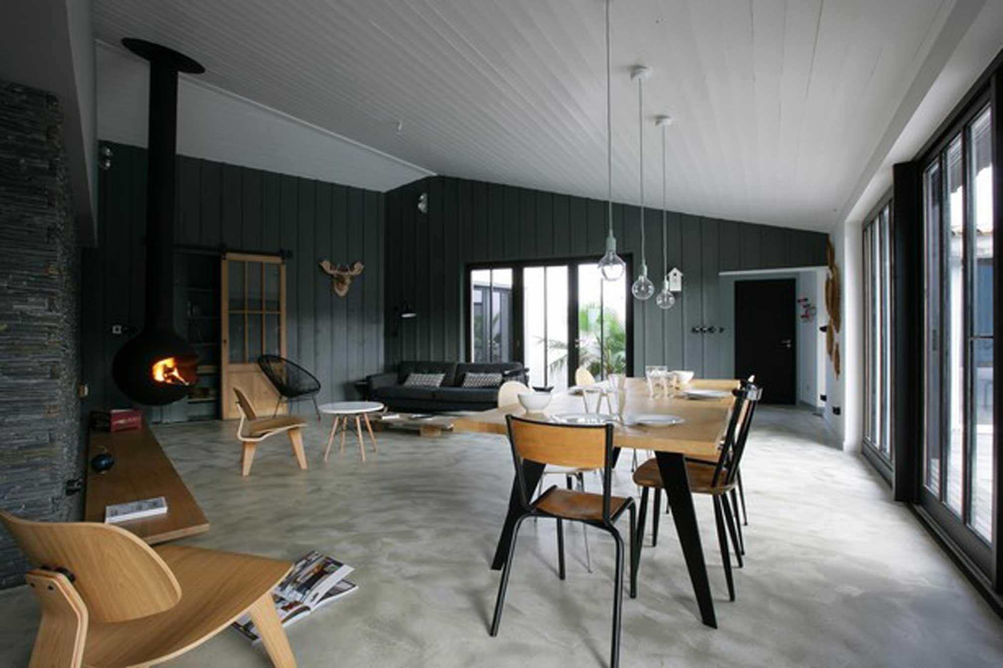 le bois plage 2 agence r team design architecte le de r. Black Bedroom Furniture Sets. Home Design Ideas