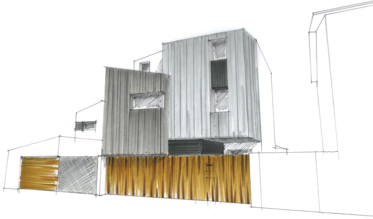maison la rochelle 19 agence lionel coutier architecte. Black Bedroom Furniture Sets. Home Design Ideas