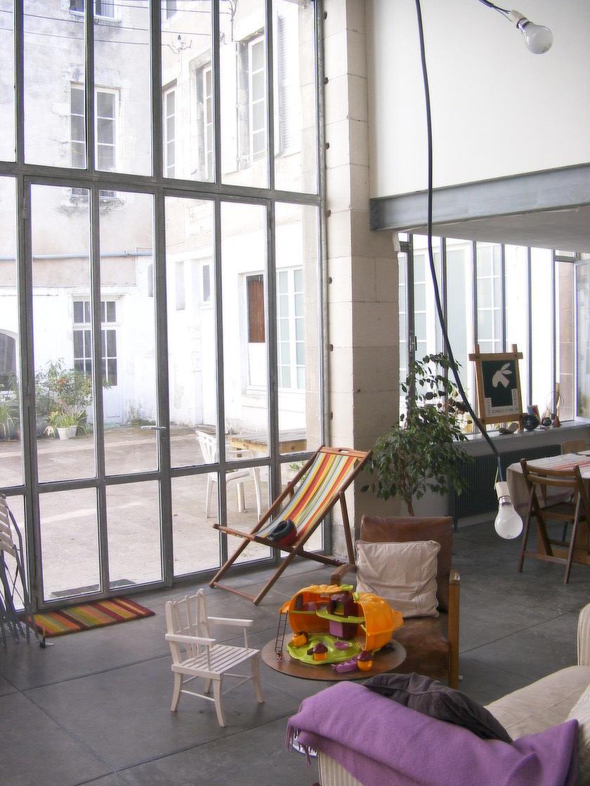 loft la rochelle 2 agence lionel coutier architecte la rochelle. Black Bedroom Furniture Sets. Home Design Ideas