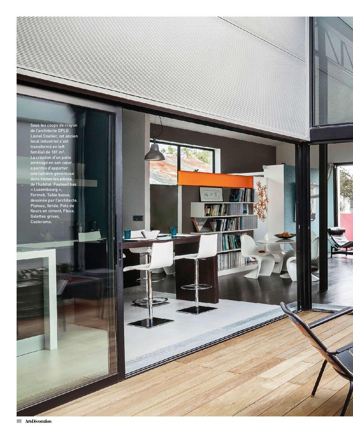 Decoratrice Interieur La Rochelle on parle de nous - lionel coutier architecte agence la rochelle