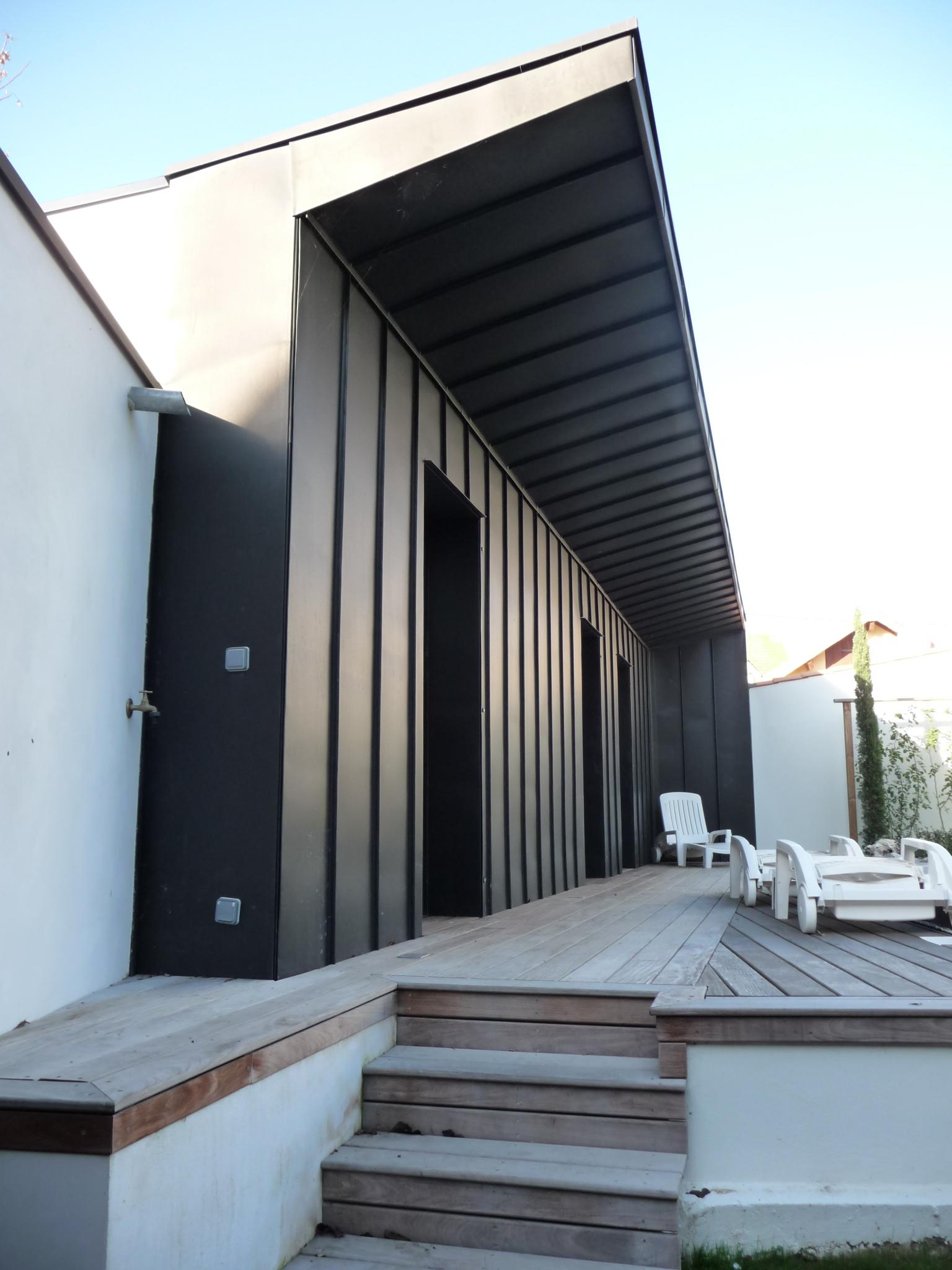 maison ch telaillon 2 cabinet architecte lionel coutier la rochelle. Black Bedroom Furniture Sets. Home Design Ideas